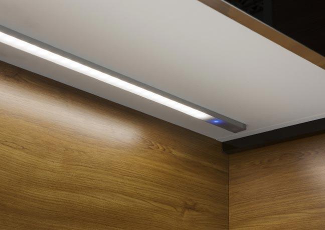Iluminación LED de cocinas
