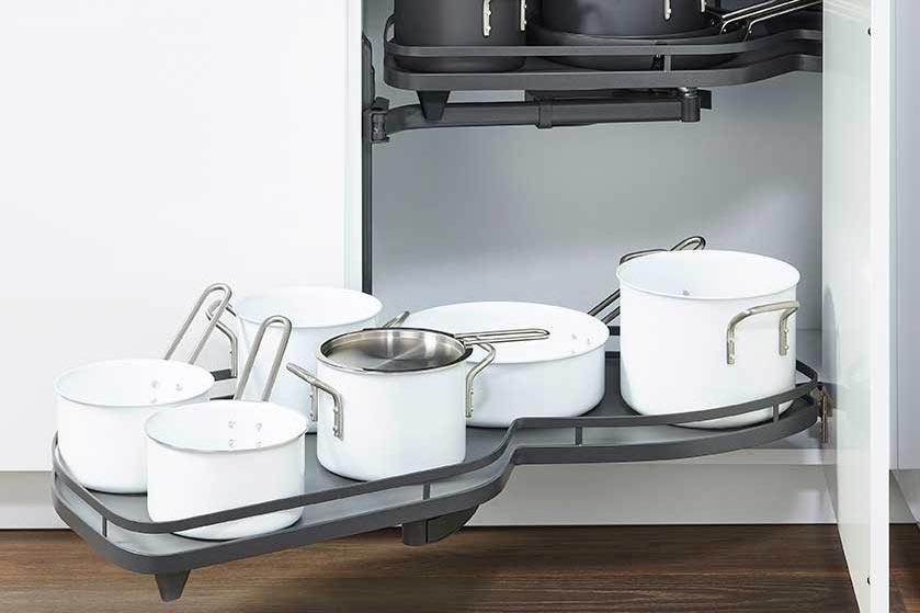 Muebles de cocina para ahorrar espacio