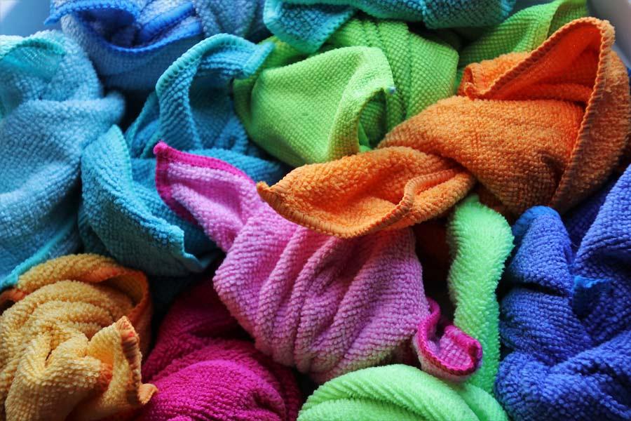 Desinfectar los trapos y las esponjas de cocina