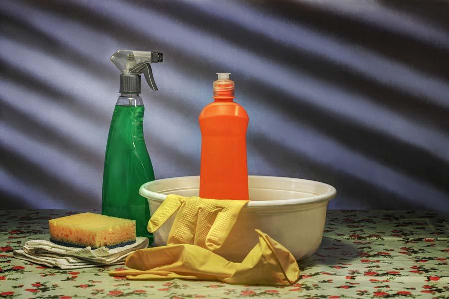 Productos para desinfectar la cocina